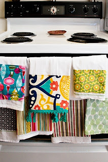 Embellished Tea Towel Tutorial