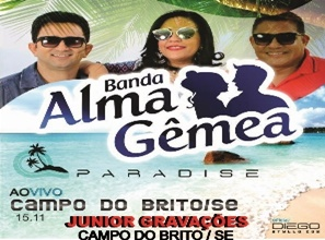 Banda Alma Gêmea - Paradise Campo do Brito