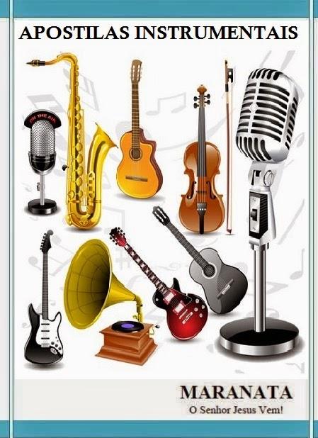 Apostilas Diversas de Instrumentistas