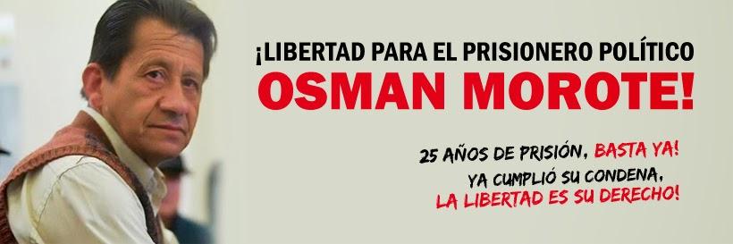 ¡Libertad para el prisionero político Osmán Morote!