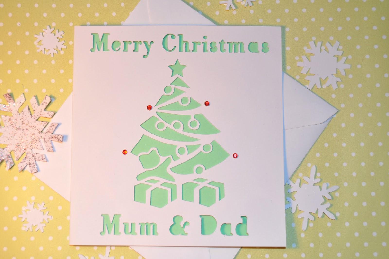 Sweet Pea Design: Christmas Cards