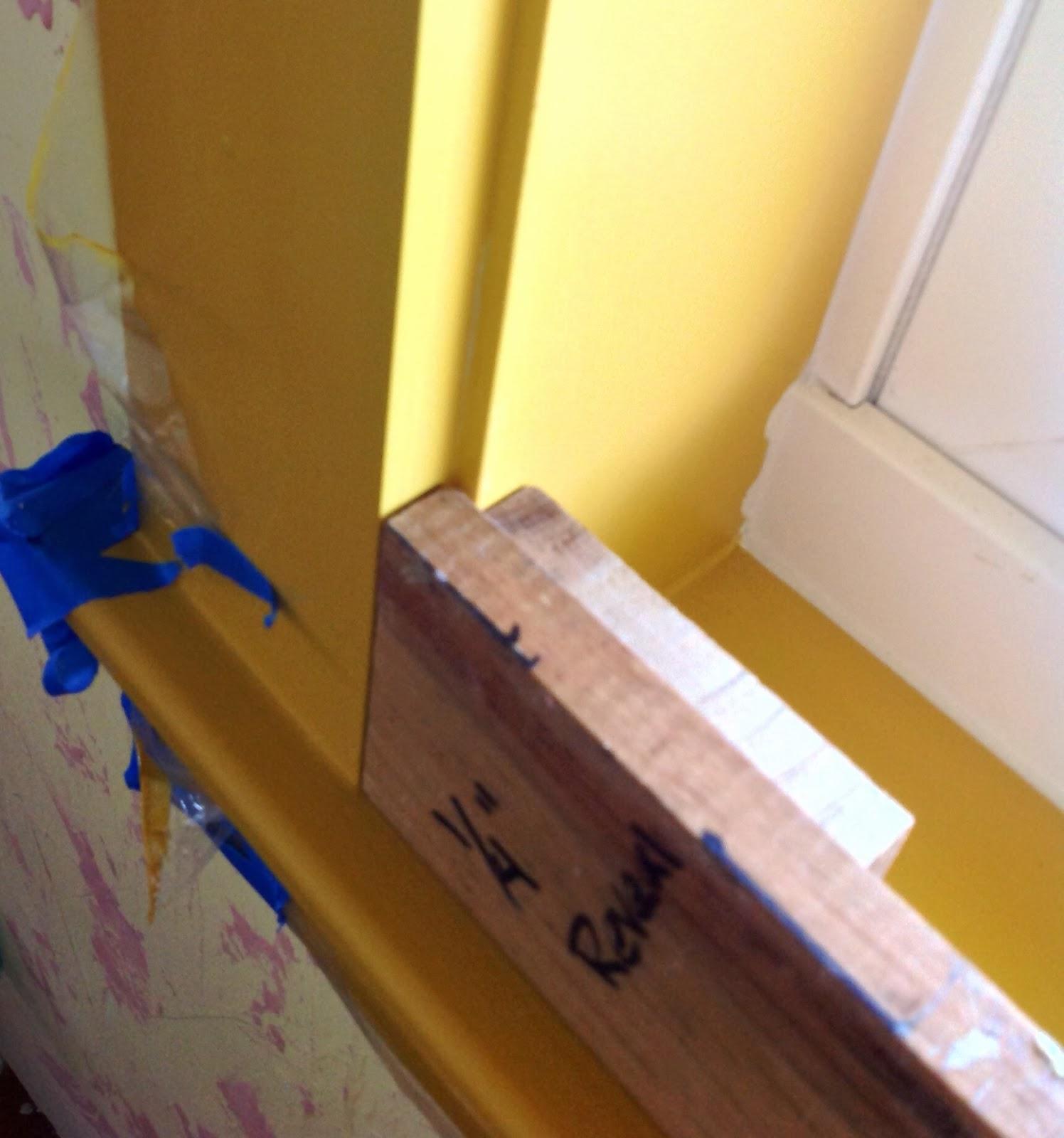 DIY Reveal Block For Hanging Window And Door Trim | Build And Rebuild,  Island Style