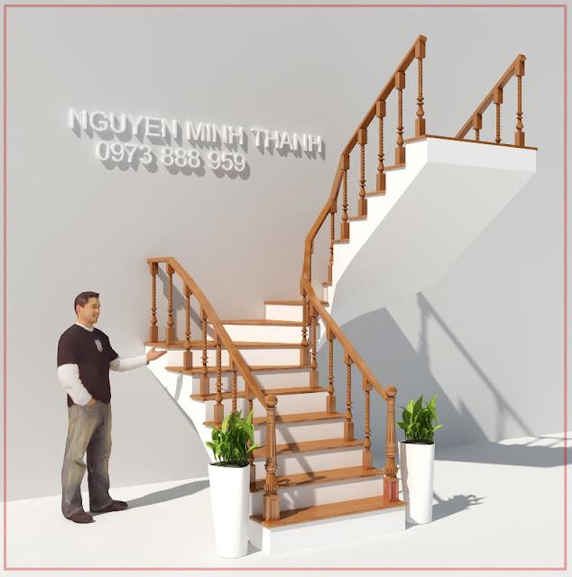 ung cau thang trong 3dmax | dung cau thang xoan trong 3dmax | dựng cầu thang xoắn trong 3dmax