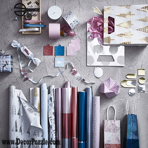 Ikea Christmas 2015, Christmas decorations 2015, Ikea catalog 2015. Christmas gift bags
