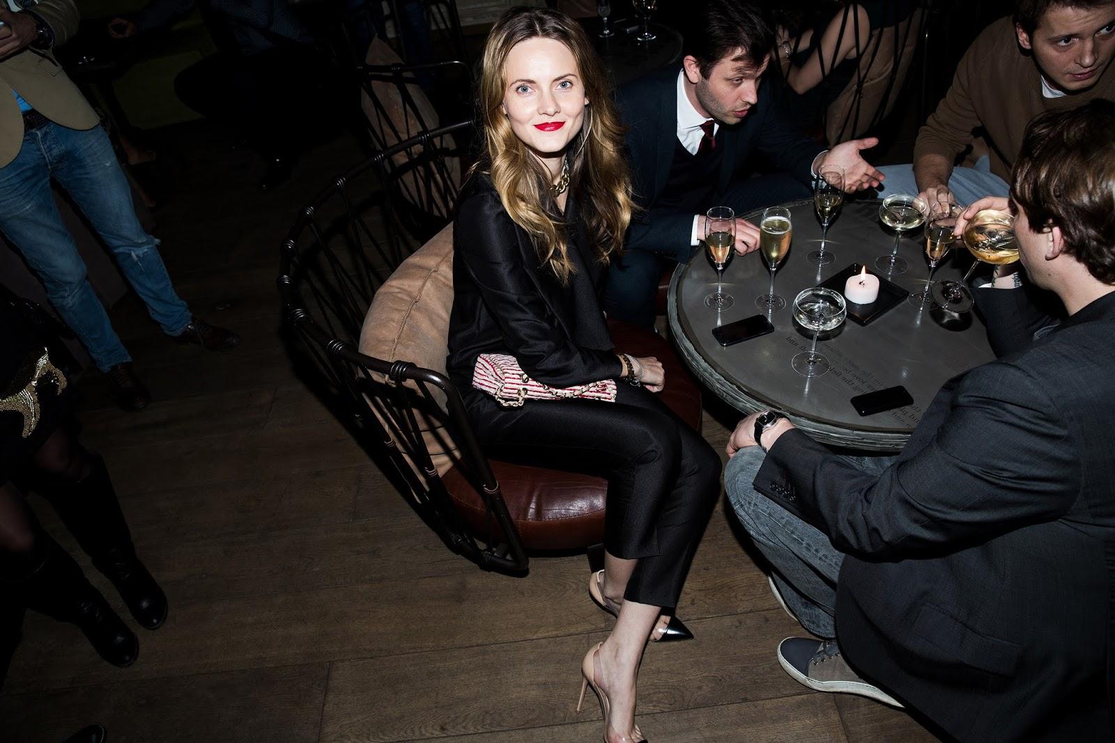 вечеринка журнала Harper's Bazaar