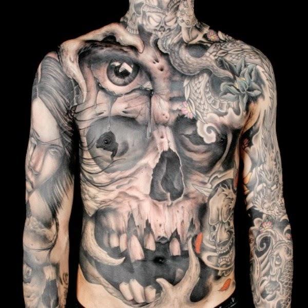 45 Optical Illusion Tattoos