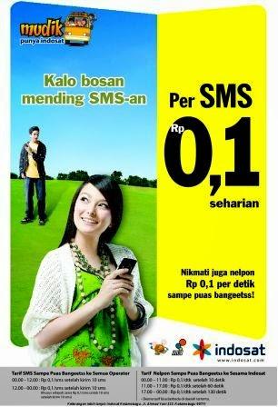cara mendaftar paket indosat murah sms rp0,1