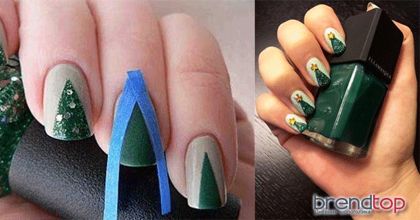 Как накрасить ногти двумя цветами пошагово в домашних условиях