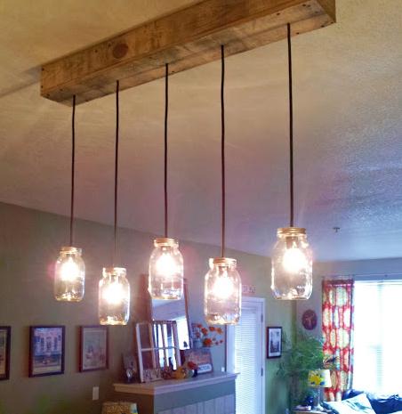 Como hacer una l mpara de estilo industrial belle home - Como hacer una lampara de pared ...