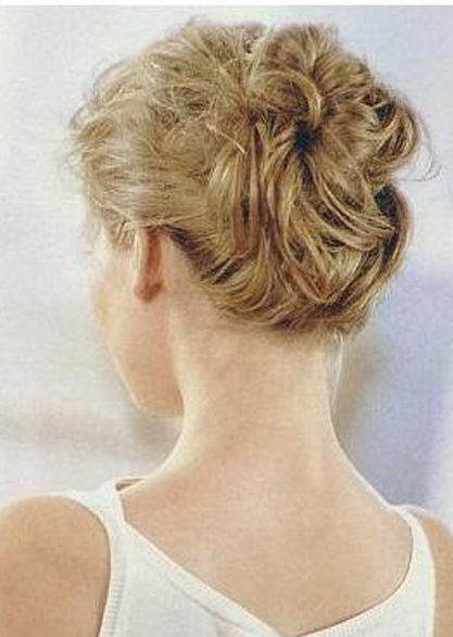 Prom Updo Hairstyles for Short Hair
