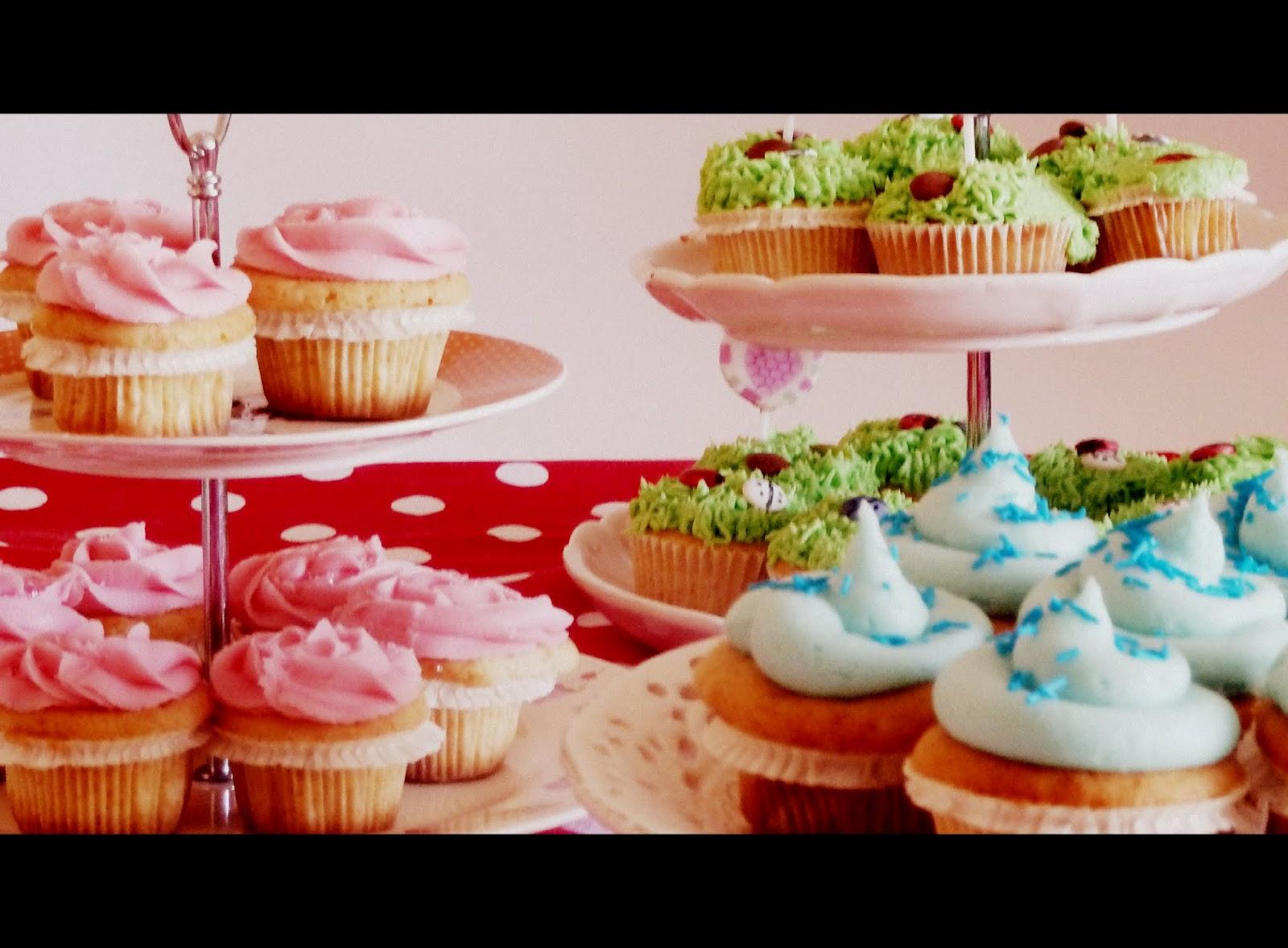 Los postres de teresa los cupcakes o magdalenas decoradas - Madalenas o magdalenas ...