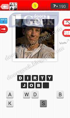 answer dirty jobs guess the tv show level 21 1 answer cheats solution