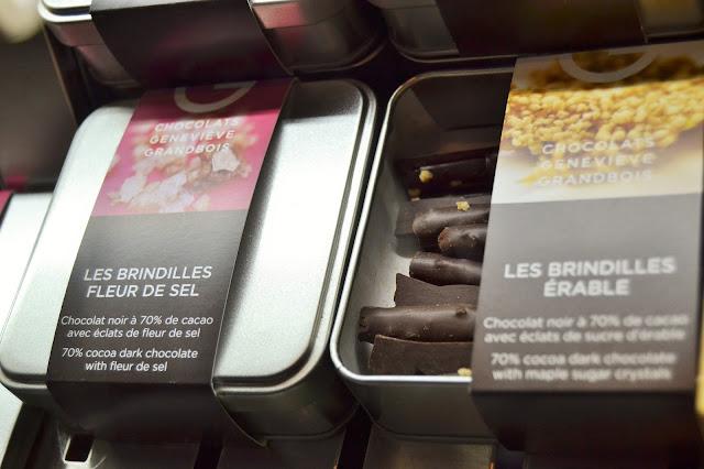 Brindilles de chocolat Geneviève Grandbois