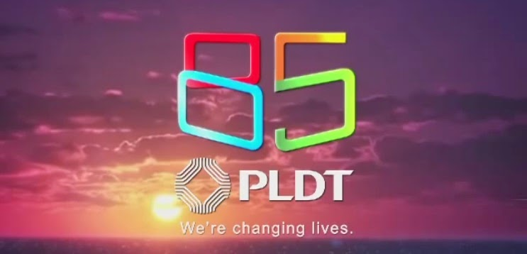 PLDT 85 Years logo