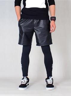 Celana Pendek Cowok Model Korea Terbaru 2015