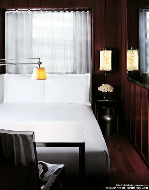 h tel hudson new york by philippe starck ennead. Black Bedroom Furniture Sets. Home Design Ideas