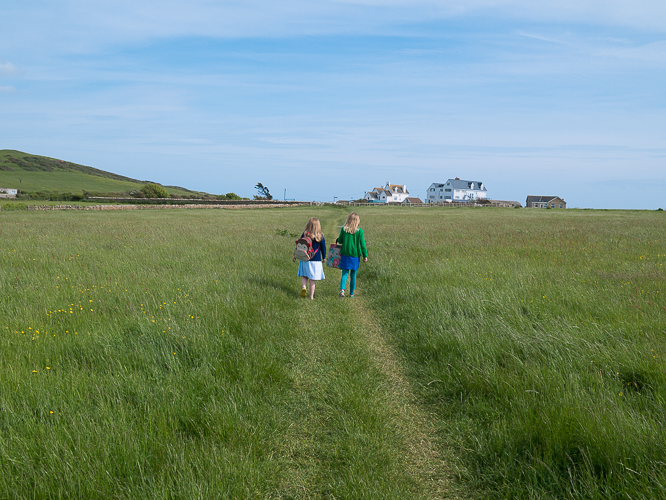 Walking near The Seaside Boarding House, Hive Beach, Dorset