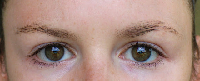 L'Oreal Brow before after
