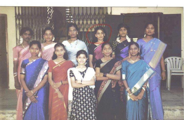 CINE ENTERTAINMENT: Samantha Rare School Days Pic, Actress ...