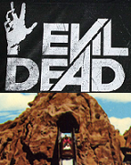 Evil Dead Log Ride Attraction