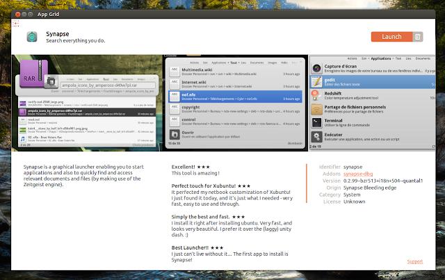 App Grid Ubuntu