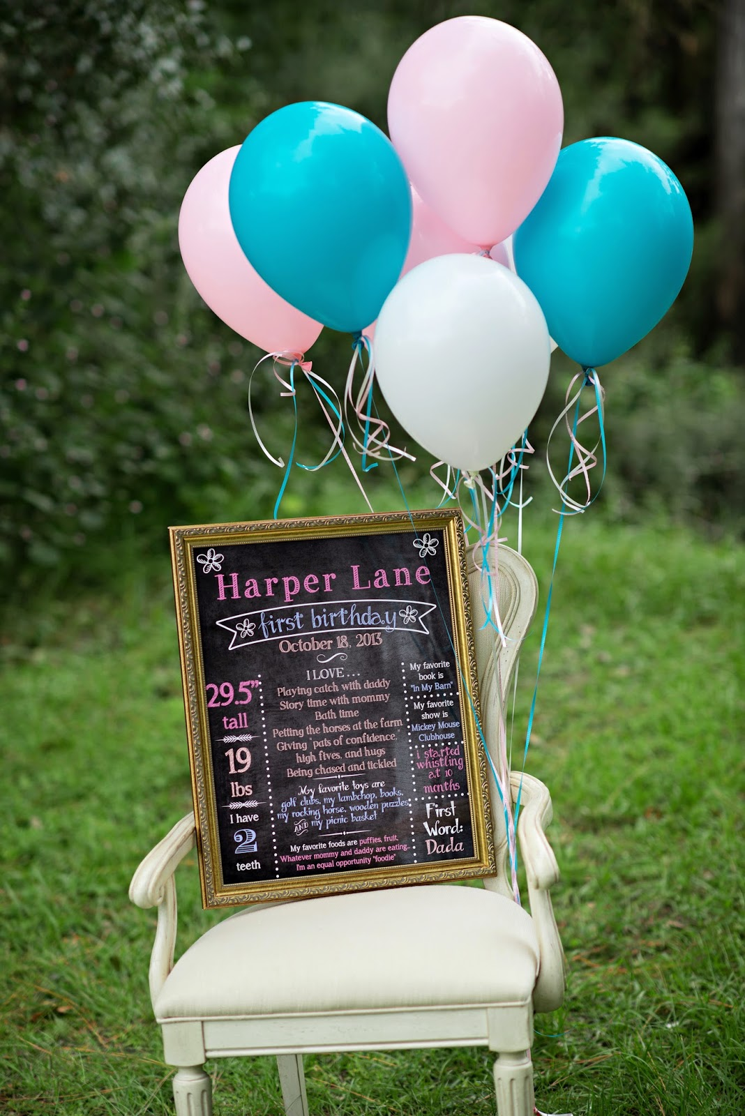 BABIES} Harper Lane's First Birthday Photoshoot | Life & Baby | Baby ...