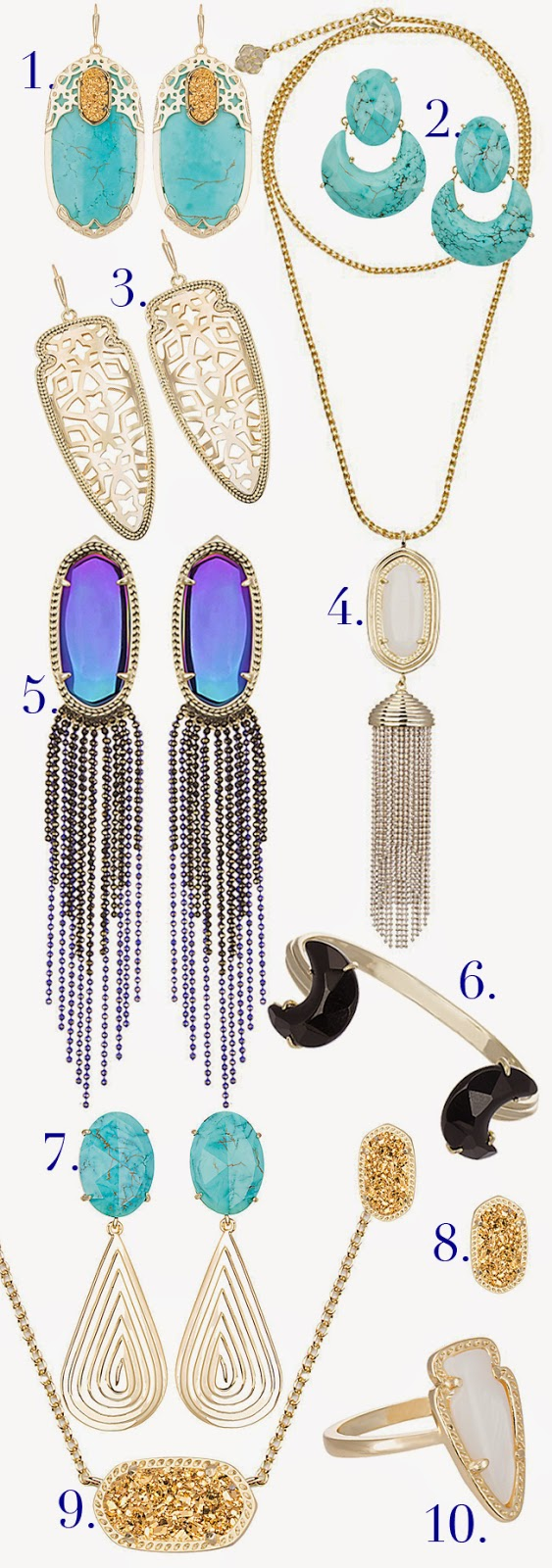 Kendra Scott Glam Rocks