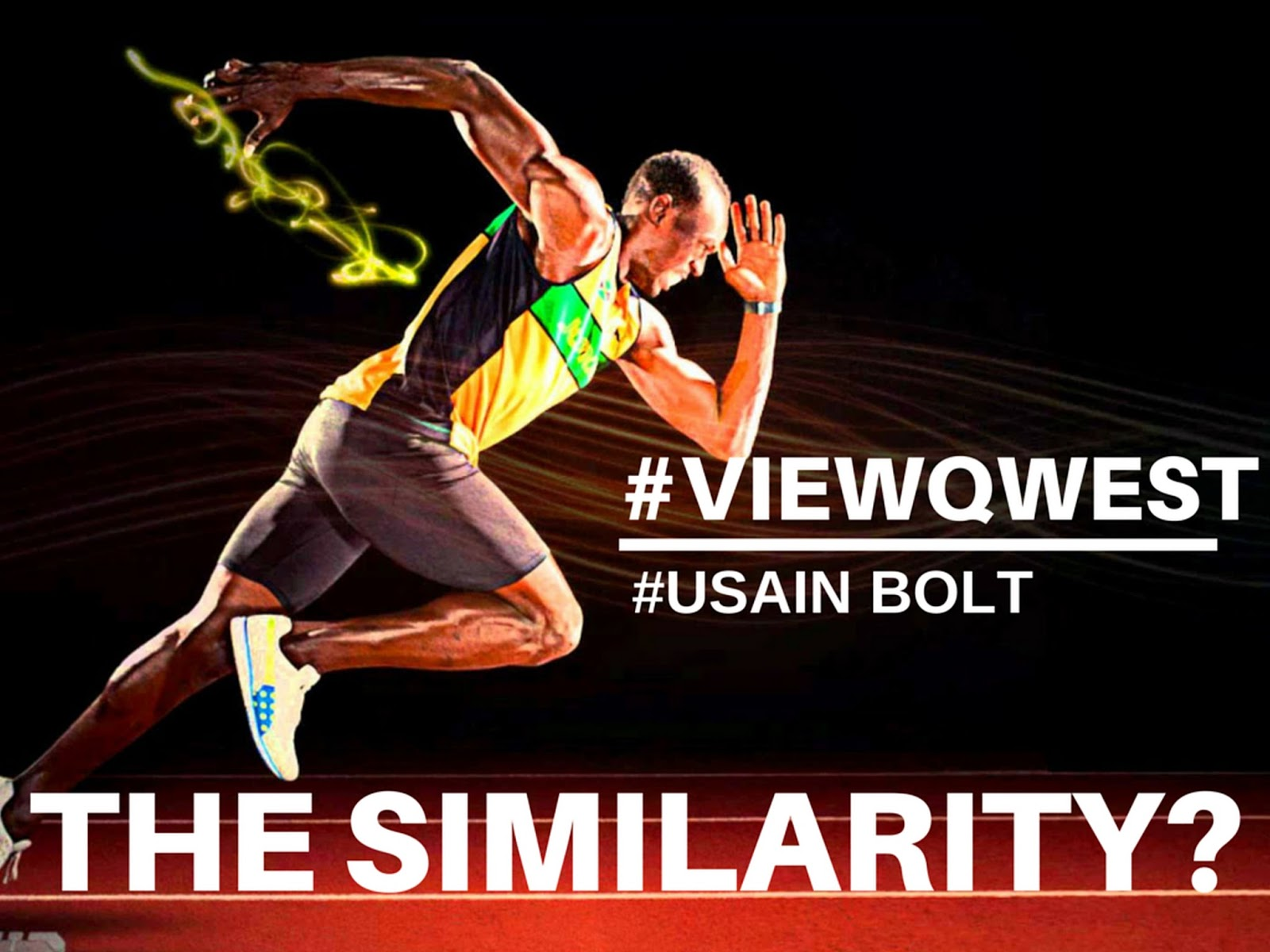 Viewqwest and Usain Bolt