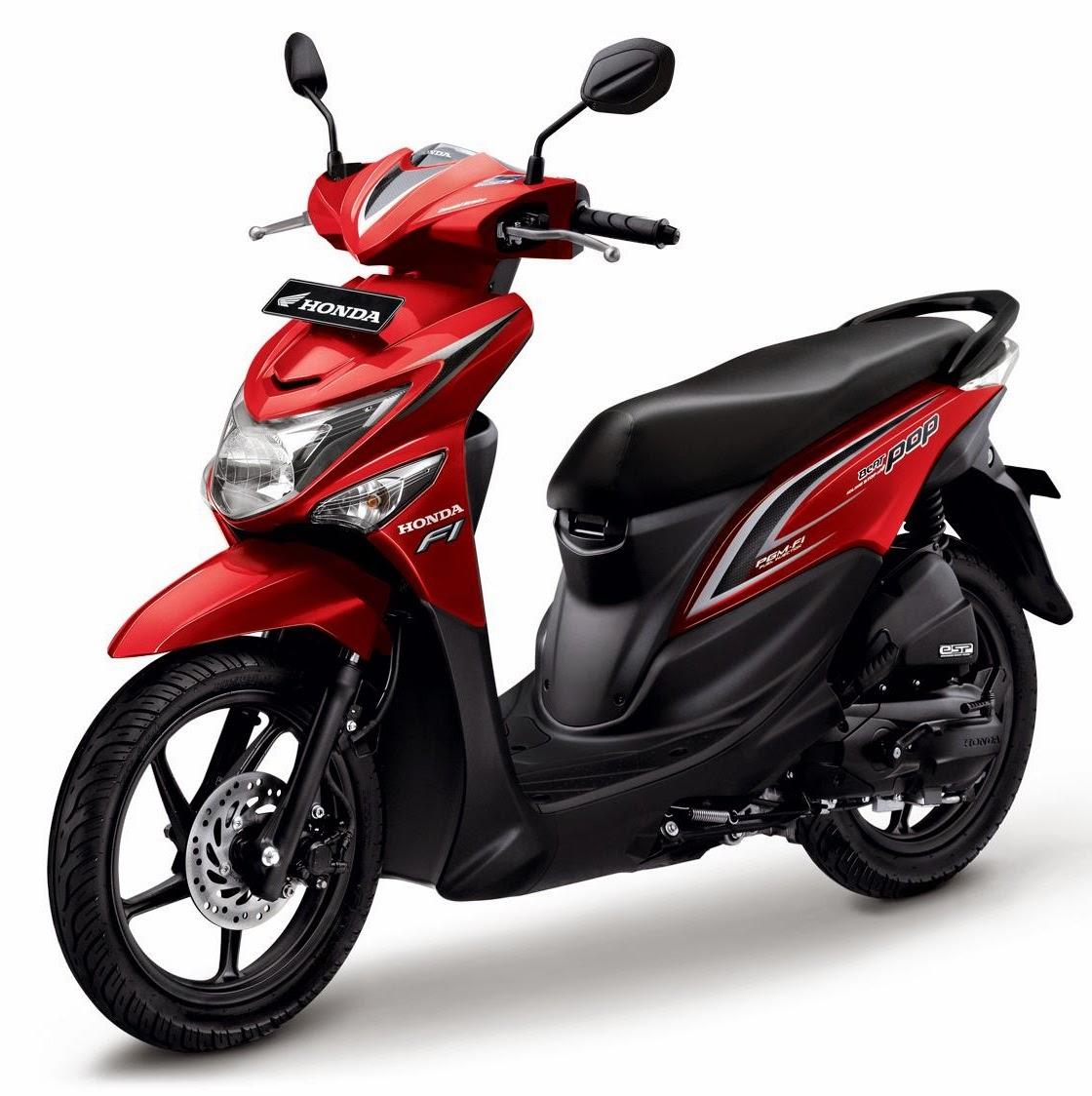 Persaingan Sengit 5 Motor Matic Terbaru 2015 Honda Beat Pop eSP