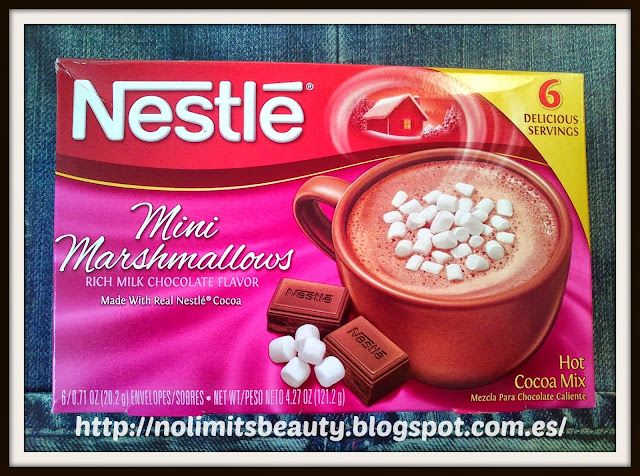 Nestle Hot Cocoa Mix, Mini Marshmallows, Hot Cocoa Mix, 6 Envelopes, 0.71 oz (20.2 g) Each