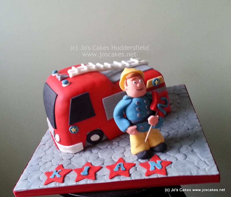 Jos Cakes Fireman Sam Birthday Cake