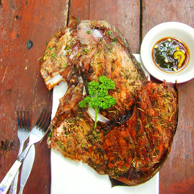 panga, tanigue, grilled, recipe for fish, filipino recipe, fish dishes