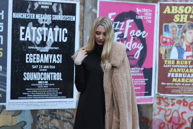primark teddy coat fashion blog