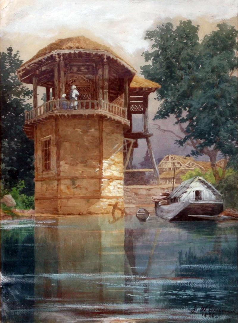 Frans Wilhelm Odelmark 1849-1937 | Swedish painter