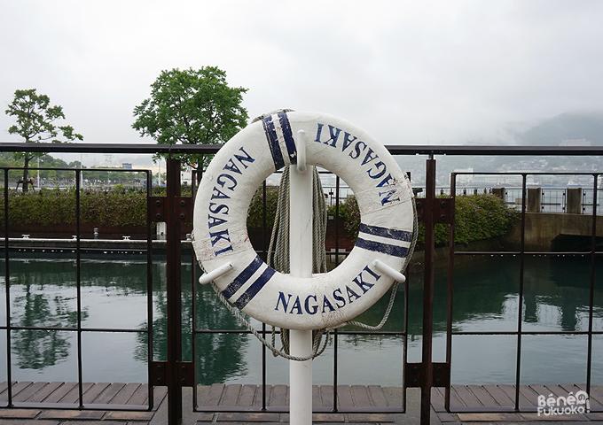 Bouée sur Dejima, Nagasaki