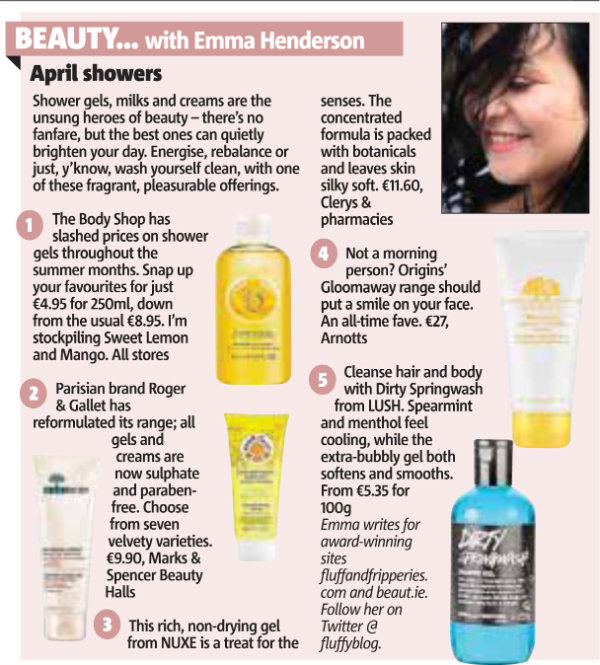 April Showers Metro Herald article April 2013