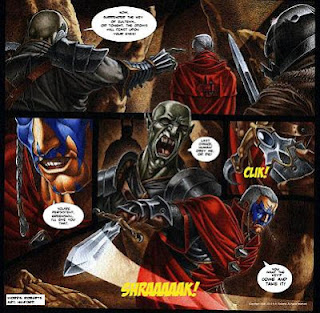 byron roberts bal sagoth comics