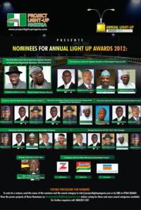 Annual Light Up Nigeria Award 2012