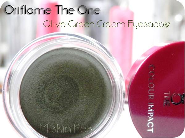oriflame_one_cream_eyeshadow_krem_far_kullananlar_makyaj_olive_green