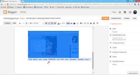 Mempercepat Loading Blog Dengan Resize Gambar 3