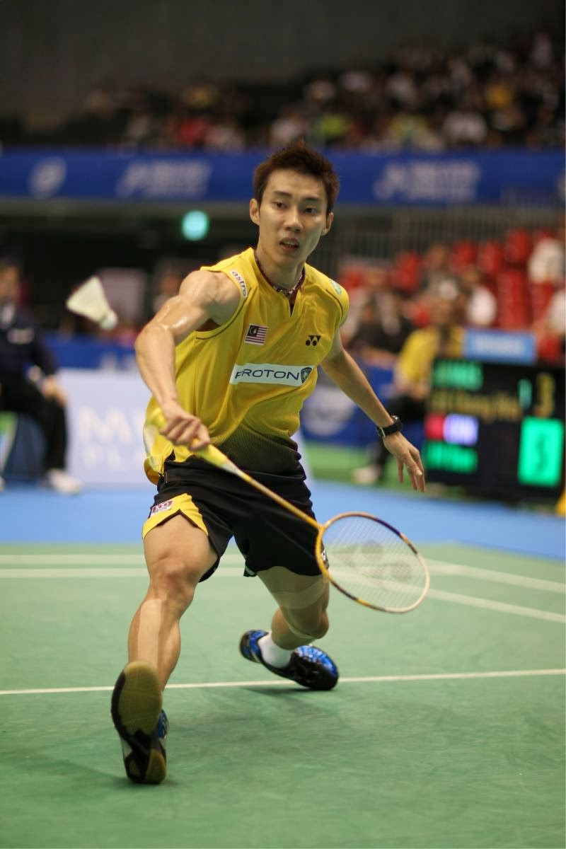 Being cergas Dare To Be A Champion by Lee Chong Wei