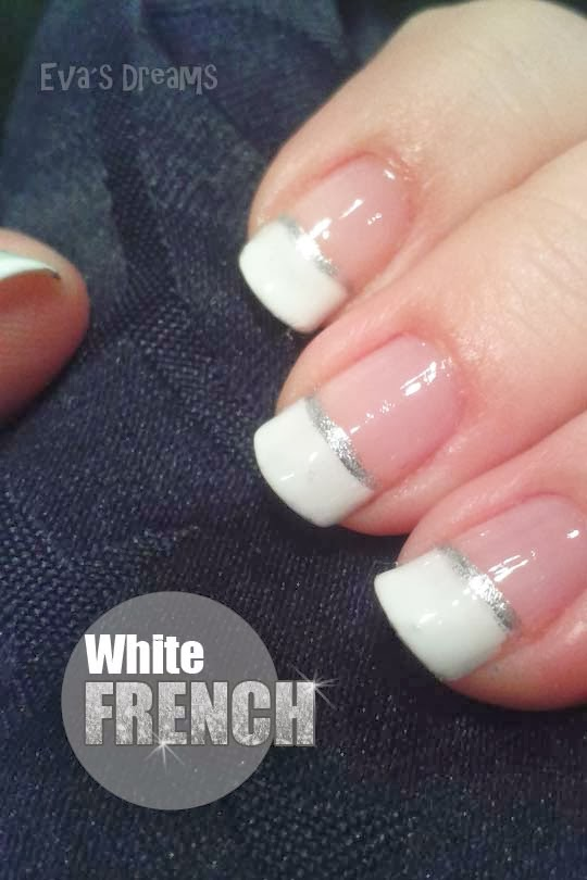 Nails of the week - Nail art: White French