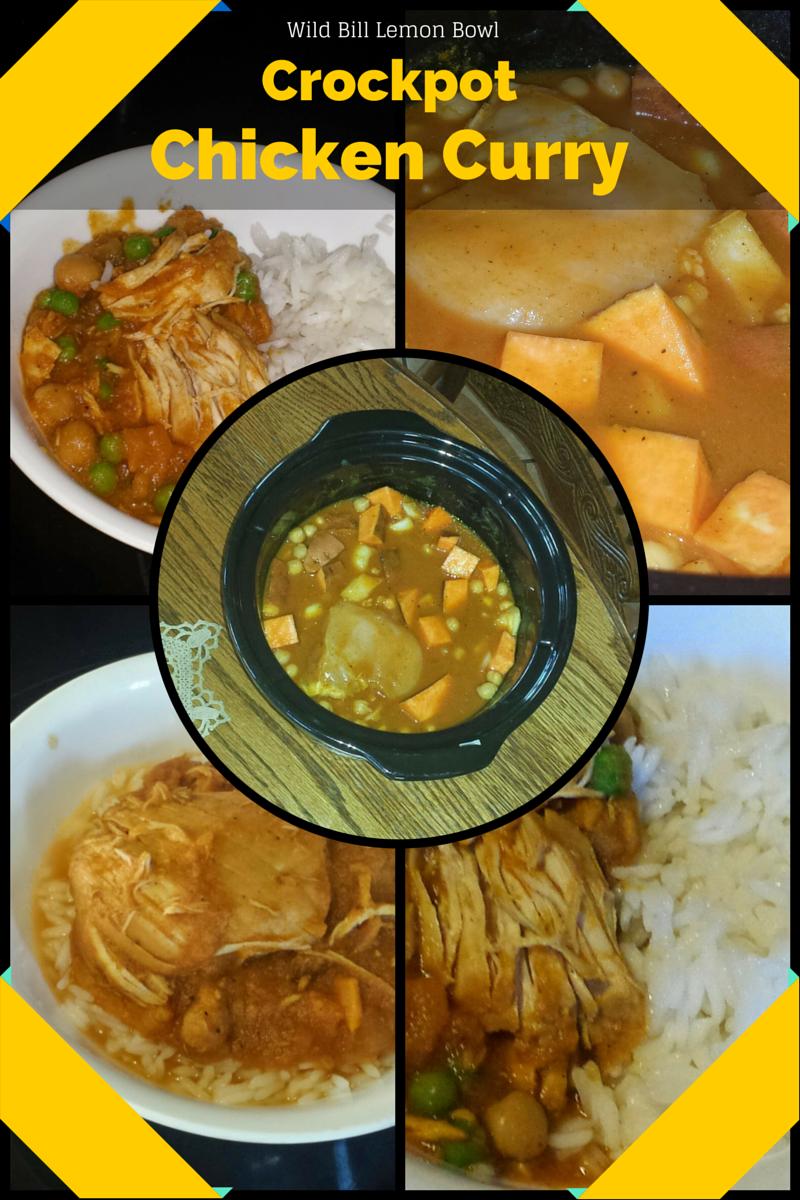 Easy crockpot curry recipe.
