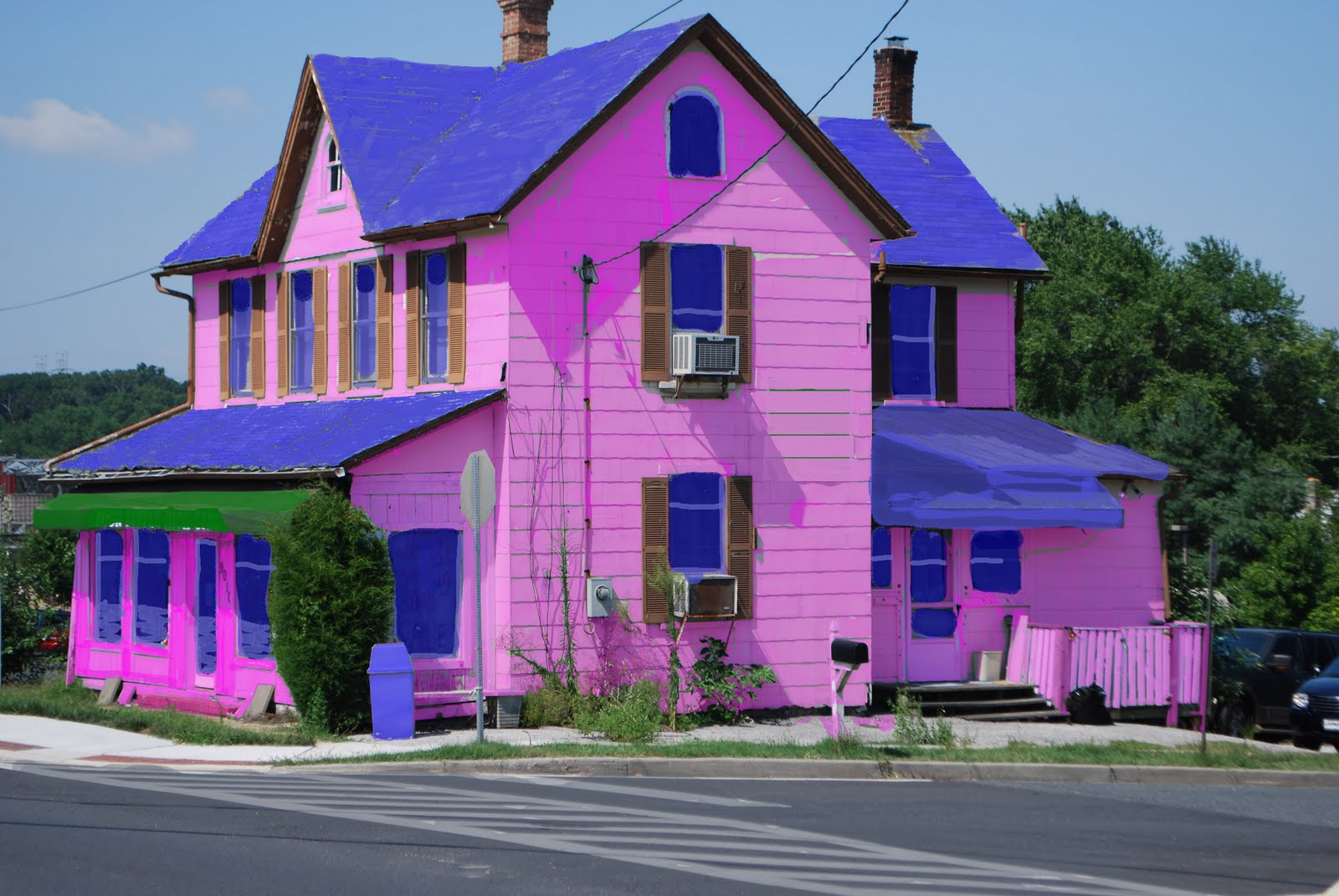 pink house coffee model - Pink Home 2015