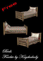 Beds freebie fantasy beds PNG Tubes