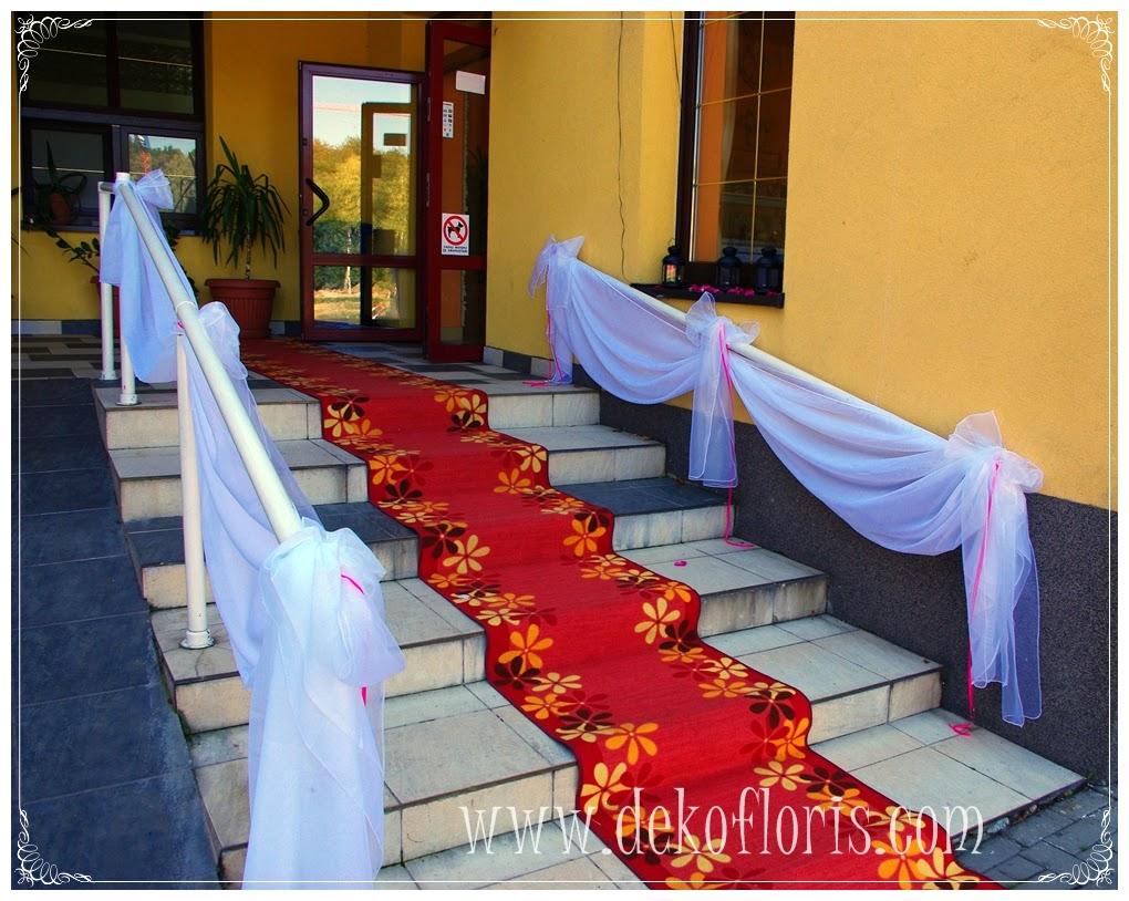 Dekoracja ślubna sali weselnej Carina Pokrzywna