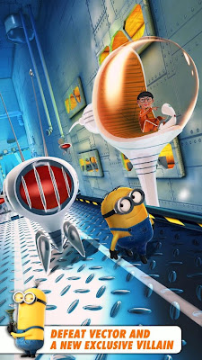 Despicable Me Mod Minion Rush Apk + Data v.1.1.0 Unlimited Coins