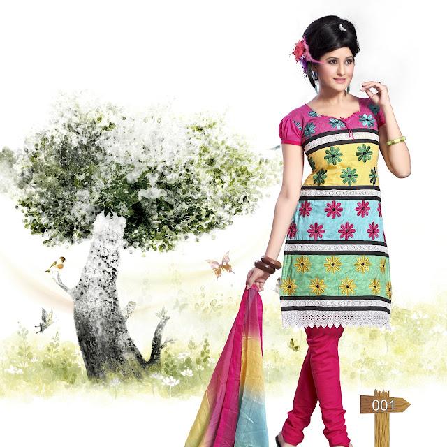 Delight Wonderful Designer Salwar Kameez With Latest Trendy Dupatta
