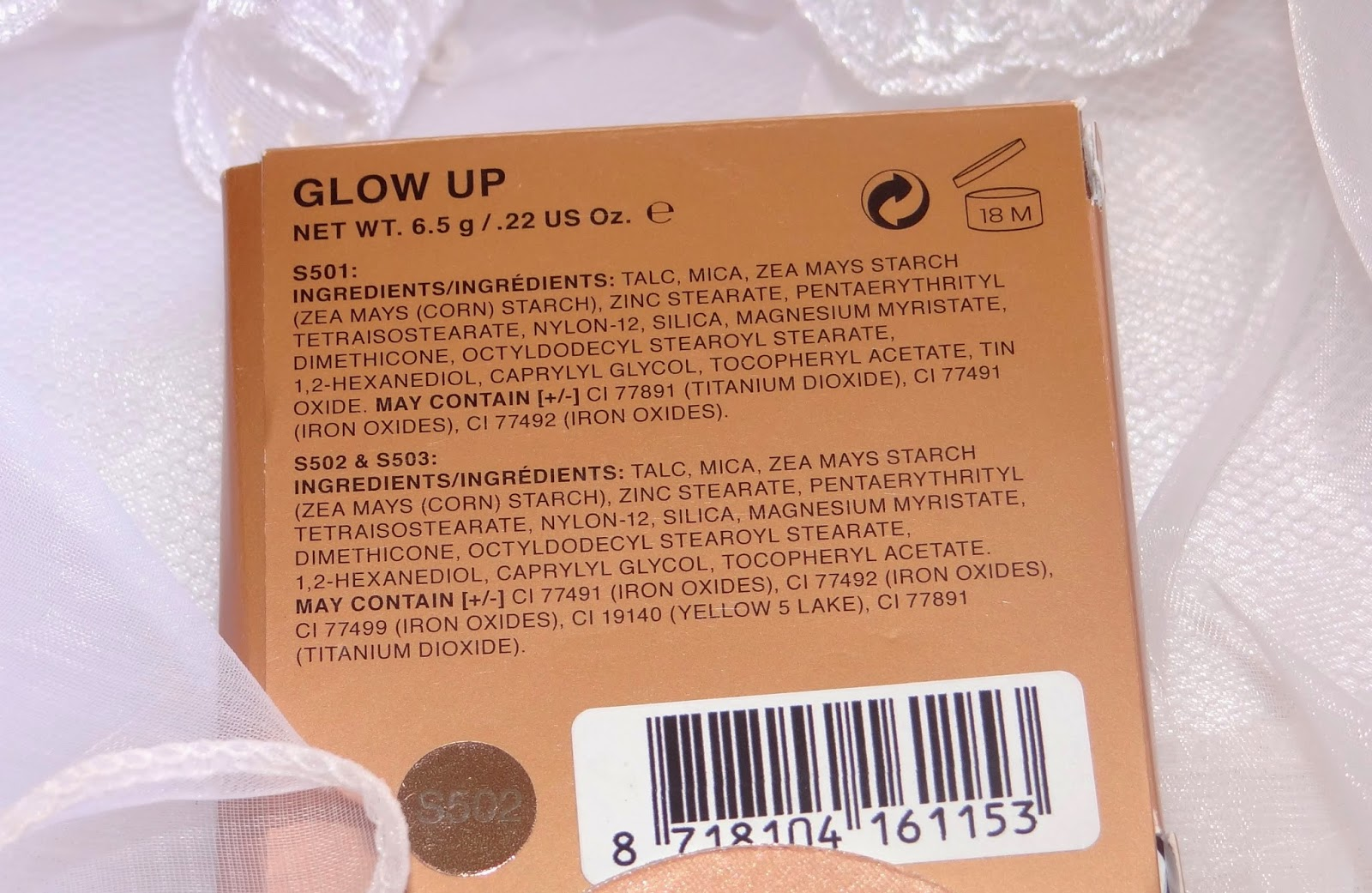 Ellis Faas Glow up highlighter review