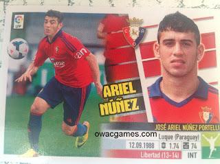 Ariel Núñez Último Fichaje 35